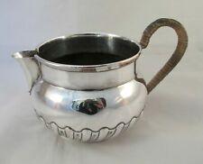 Good Large 19th Century Silver Plated Milk Jug