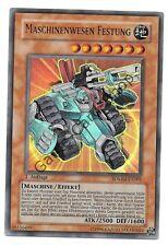 YuGiOh! - MASCHINENWESEN FESTUNG - SDMM-DE001 - Ultra Rare - 1. Auflage -Deutsch