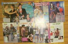 Zac Efron, Lot of EIGHT Full Page Pinup Clippings