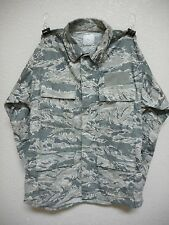 USAF TIGER STRIPE, AIRMAN BATTLE ENSEMBLE JACKET, MEDIUM LONG, USED