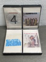 The Foreigner Vintage Cassette Tape LOT OF 4 UNTESTED