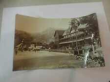 Early 1900s C.B.Waite Street in Avalon, Santa Catalina #228 Original Photograph