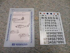 Microscale decals 1/48 48-14 Devastator and Buffalo Any Navy VF-2 -3 Lexingt  N1