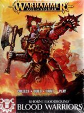 NEW Games Workshop Age of Sigmar Easy To Build Khorne Bloodbound Blood Warriors