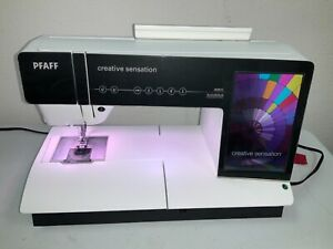 Pfaff Creative Sensation with IDT Sewing/Embroidery/Quilting Machine! Excellent!