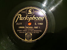 """SIDNEY TORCH & HIS ORCHESTRA """"London Fantasia"""" 78rpm 12"""" 1945  NMINT+"""