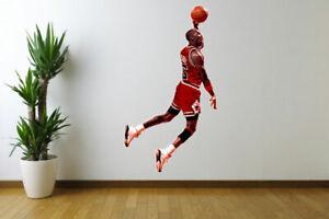 Michael Jordan Chicago Bulls Fathead Style Wall Decal Sticker