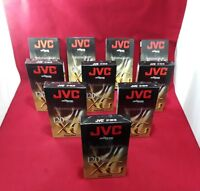 Jvc Professional Master XG Super Vhs 6 Hrs Lot of 10 BRAND NEW!!!!!!!