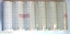 6 rouleaux de papier millimétré pour traceur largeur 11cm diam axe 10mm 402R9207