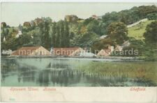 Sheffield, Rivelin, Spooners Wheel Postcard, C023