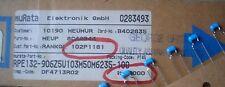 MURATA 25pcs RPE132 Z5V 0.01uF 50V 20% Condensatori di ceramica