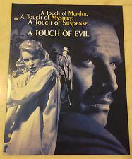 Touch Of Evil (1958) Press Kit Photos, 1998 Promo; Orson Welles, Charlton Heston