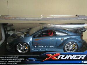 163R Kentoys 58315825 Toyota Celica Tuner 2004 Bleu Métallisé Neuf + Boite 1:12