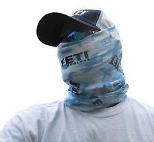 YETI One Size Fits All Buff Headwear Blue Camo Polyester