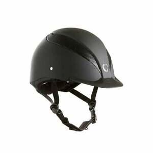 Champion Air-Tech Riding Hat BSEN Standard Black Small