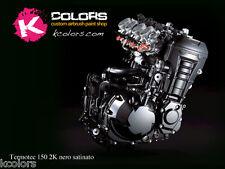 Vernice Liquida 2K Per Motore Nero Satinato 500gr