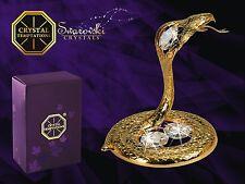 G 4188 or serpent cobra swarovski pierres cristal 24 carats Crystal 7 CM