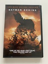 New listing Batman Begins (Dvd, 2005, 2-Disc Set, Deluxe Edition) - Mint!