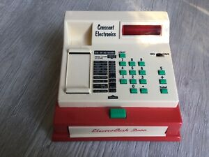 Vintage 1970s Toy Cash Register - Crecent Toys - Made In Great Britain
