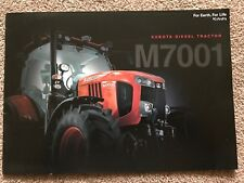 Kubota M7001 Tractor Brochure