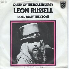 7inch LEON RUSSELL queen of the roller derby HOLLAND EX+ 1973 (S1515)