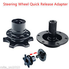 Universal Car Hub Racing Steering Wheel Quick Release Adapter Snap Off Boss Kits