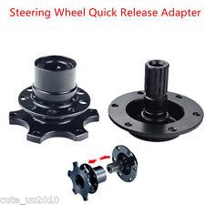 Universal Car HUB Racing Steering Wheel Quick Release Adapter Snap Off Boss Kits