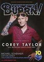 BURRN October 2020 Hard Rock Heavy Metal Magazine Japan Corey Taylor Aldious