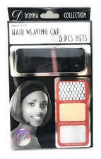 DONNA COLLECTION #11070 HAIR WEAVING CAP 5 PCS NETS