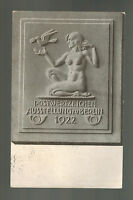 1922 Berlin Germany Postcard Cover Post Office Nude with Dove