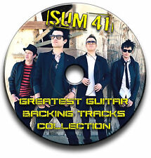 SUM 41 STYLE AUDIO CD HEAVY POP ROCK GUITAR BACKING JAM TRACKS CD ANTHOLOGY