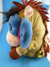 "Disney Store Eeyore in Toy Story Bullseye Costume Adorable  Plush 12"" Sitting"