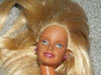 """Vintage Barbie 6"""" Miniature Doll 1998 1999 Mattel Indonesia Nude"""