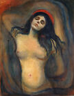 Madonna Edvard Munch Fine Art Print on Canvas Giclee Poster Wall Decoration 8x10
