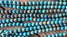 Calsilica Rainbow Semi Precious Stone Man-made Dyed 8mm Round Bead Q1 Strand