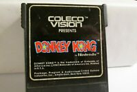 Vintage DONKEY KONG by Coleco Vision  - cartridge only FREE SHIPPING