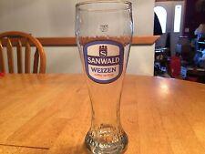 Sanwald Weizen 9 inch tall beer glass Tumbler 0.5L German