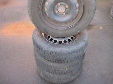 Satz Som-Reifen auf Stahlfelgen OpeL Corsa-D 14 Zoll