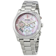 FossilPerfect Boyfriend Pink Mother of Pearl Dial Ladies Watch ES4173