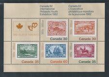 Canada 82 #913a Souvenir Sheet MNH