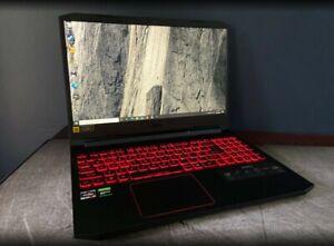 Acer Nitro 5 15.6 FHD Laptop AMD Ryzen 5 4600H GeForce 1650 16GB RAM SSD+2TB HDD