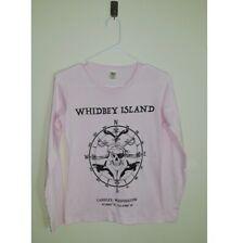Royal Apparel Whidbey Island Organic Cotton Shirt Size S Long sleeve Round Hem