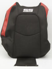 OEM HHR SS Front Right Upper Seat Cover 25872665 Black Suede w/ Red Accent