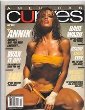 AMERICAN CURVES #39 bikini lingerie fitness magazine/Annik 12-07