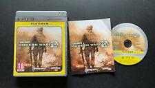 Call of Duty Modern Warfare II 2 PS3 Play Station 3 PAL Française Fra
