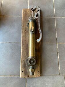 Antique French Brass Water Cider Hand Pump