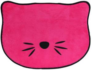 Pink Pet Cat Feeding Mat Bowl Absorbent Placemat 13.5x10 NON-SLIP FREE SHIPPING
