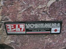 Aufkleber Sticker Aluminium Motorradsport Yoshimura Racing Tuning Motorsport  FX