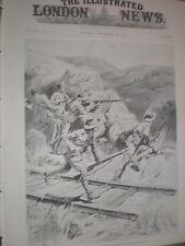 With Redvers Buller force Mounted Infantry clearing boers from railway 1900