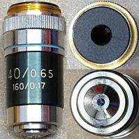 Parco microscope objective lens 40/0.65, 160/0.17.